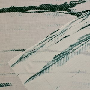 Pure Cashmere Pashmina - Emerald Tie Dye