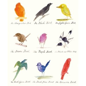 Lear Birds Card
