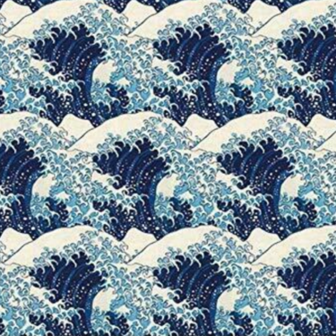 Level 1 Accessories Hokusai Wave Tissue Paper