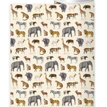 Level 1 Accessories Safari Wrapping Paper