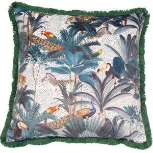 Jungle Scene Cushion