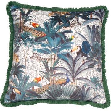 Level 1 Accessories Jungle Scene Cushion