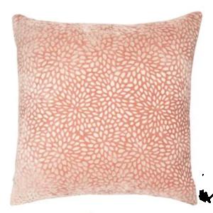 Floral Putty Velvet Cushion