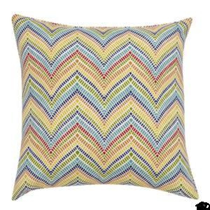 Colourful Chevron Outdoor Cushion
