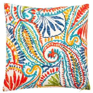 Outdoor Paisley Cushion
