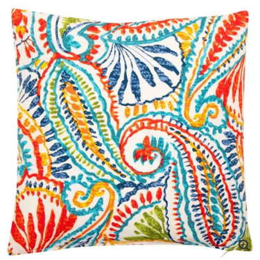 Level 1 Accessories Outdoor Paisley Cushion