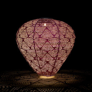 Purple Balloon Solar Lantern