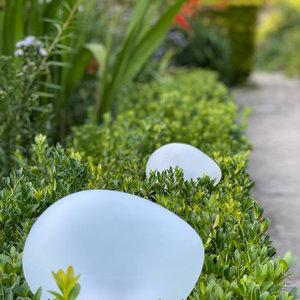 Solar Glass Pebble Small