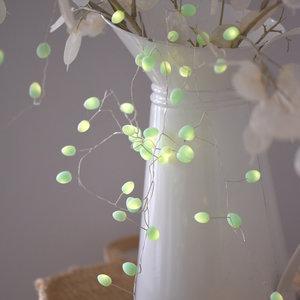 Mint Teardrop Light Chain