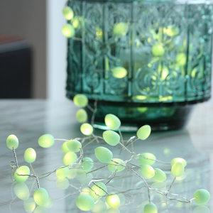 Mint Teardop Light Chain