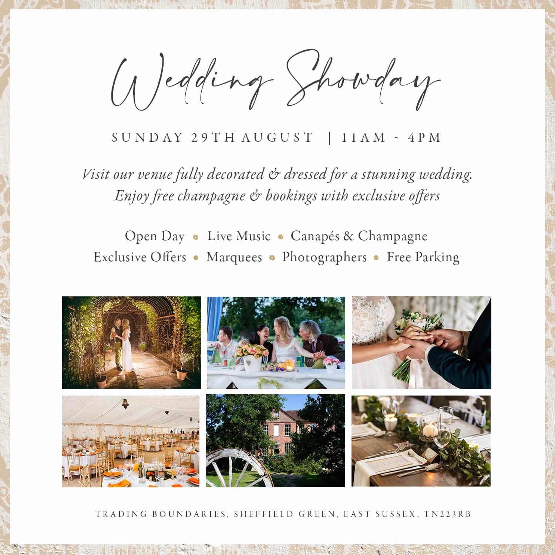 Trading Boundaries Weddings Sussex UK