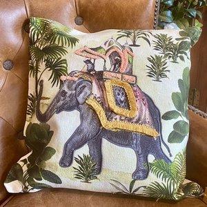 Exotic Elephant Cushion