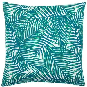 Tropical Leaves Outdoor Cushion