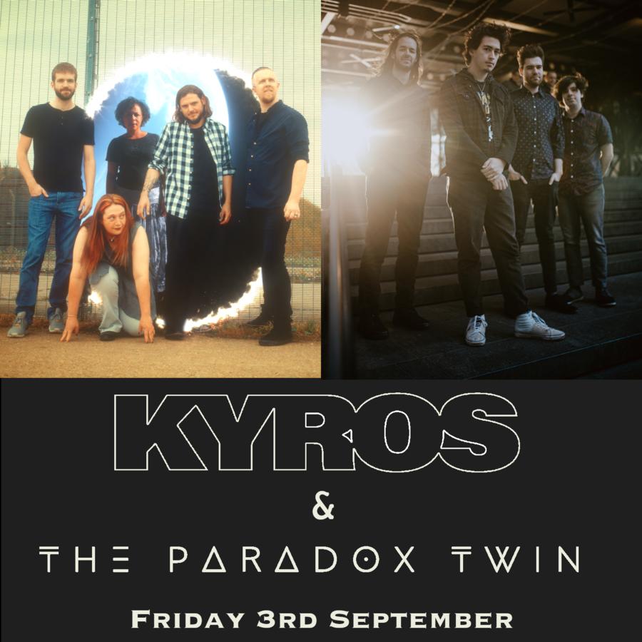 Live Music Paradox Twin & KYROS