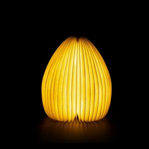 Smart Vase Lamp - Walnut
