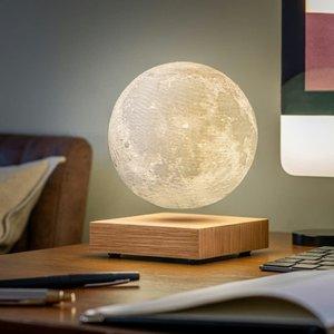Smart Moon Lamp - White Ash