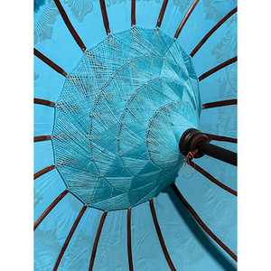 Blue Indah Sun Parasol