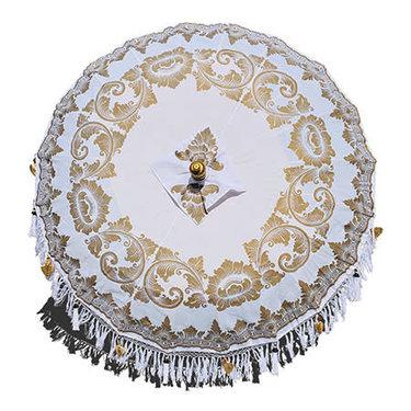 Level 2 Accessories White Indah Sun Parasol