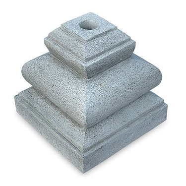 Level 2 Accessories Grey Stone Parasol Base