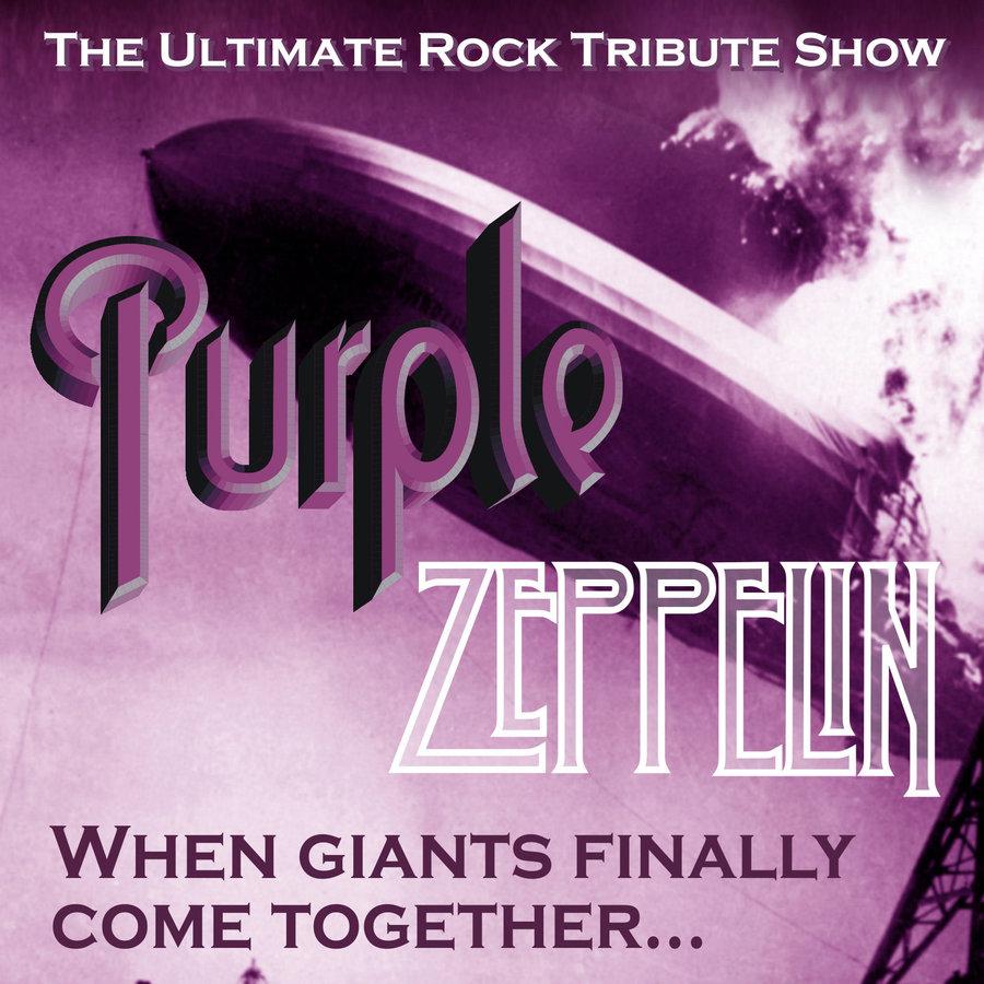 Live Music Purple Zeppelin