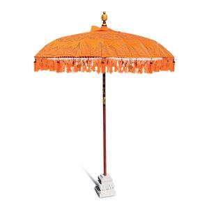 Orange Indah Sun Parasol