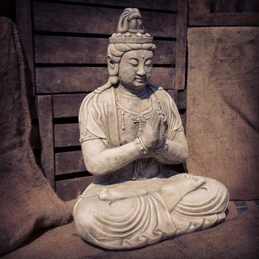 Level 1 Accessories Stoneware Praying Goddess