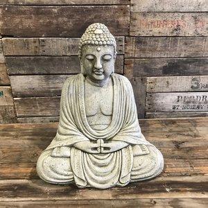 Stoneware Kamakura Buddha