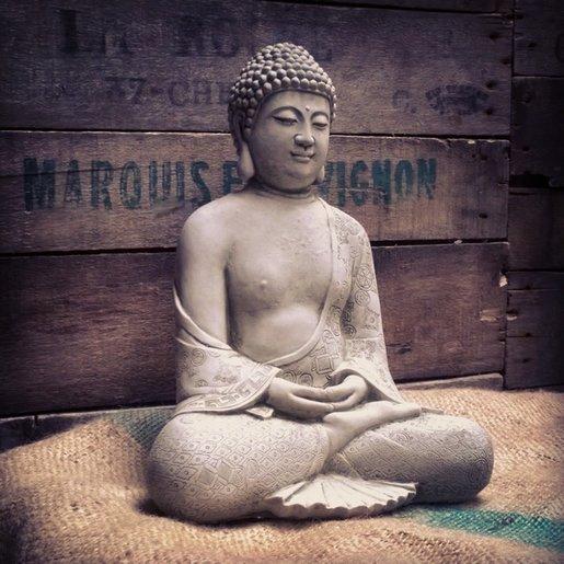 Level 1 Accessories Stoneware Robe Buddha