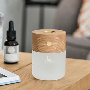 Smart Diffuser Lamp - White Ash