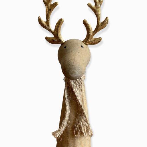 Level 1 Accessories Wooden Reindeer