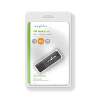NEDIS USB FLASH DRIVE 64 GB