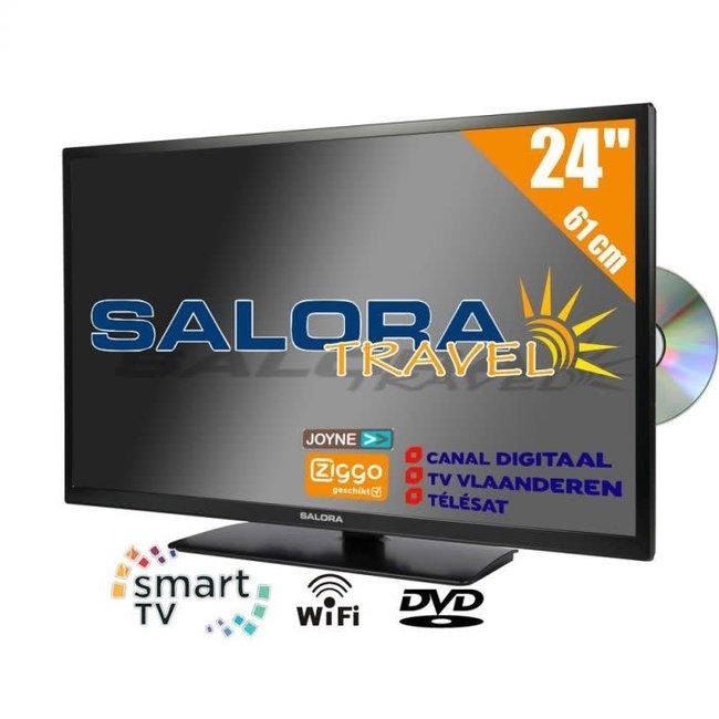 "Salora SALORA 24"" SMART + DVD"