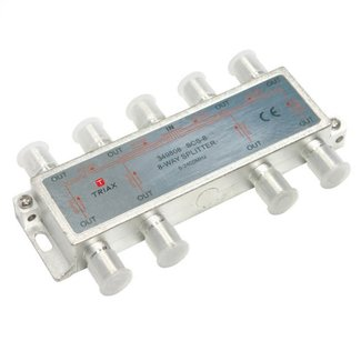 TRIAX 8- WAY SAT SPLITTER