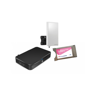 M7 Tv Vlaanderen DVB-T2 ontvanger + module+ 3LTE antenne