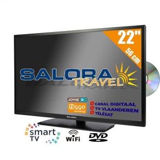 "Salora 22"" SALORA SMART + DVD"