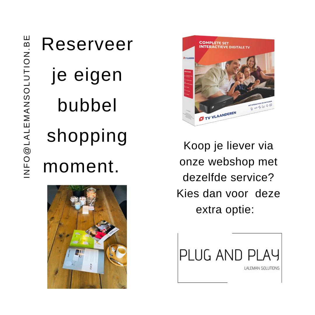 Bubbel shopping