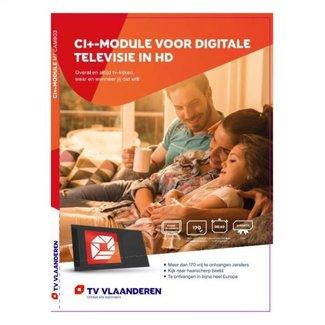 M7 Cam803 CI+ MODULE TV VLAANDEREN