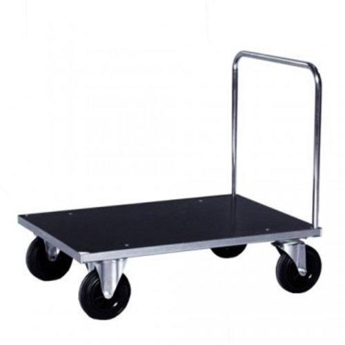 ROLLCART Platformwagen duwbeugel verzinkt
