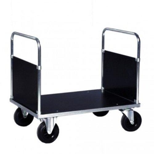 ROLLCART Dubbele kopwandwagen verzinkt