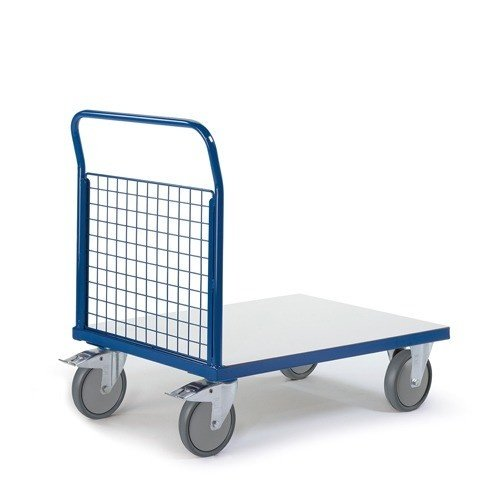 ROLLCART ESD platformwagen met kopwand