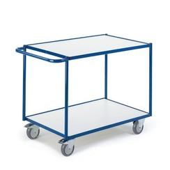 ESD tafelwagen met 2 laadvlakken