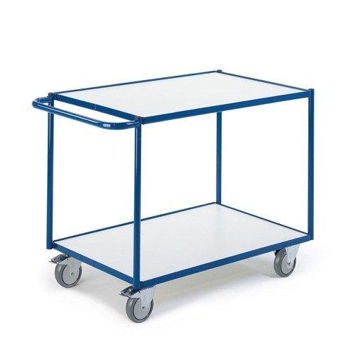ROLLCART ESD tafelwagen met 2 laadvlakken