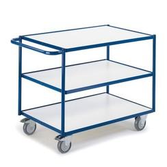 ESD tafelwagen met 3 laadvlakken