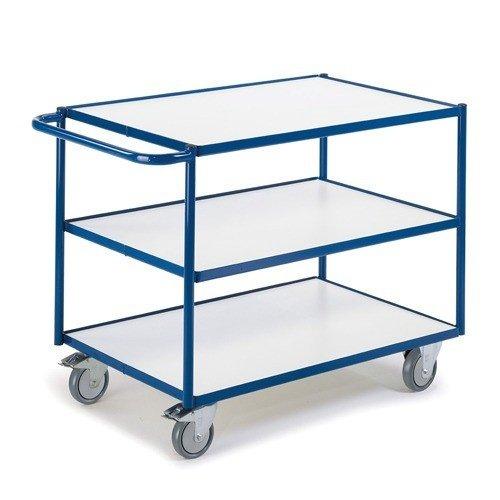 ROLLCART ESD tafelwagen met 3 laadvlakken