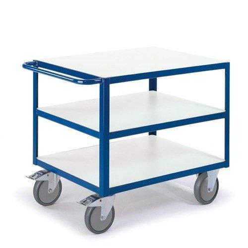 ROLLCART ESD tafelwagen met 3 etages