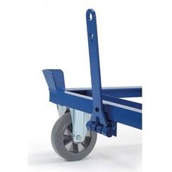 Dissel en koppeling voor palletonderwagen