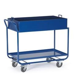 Werkplaatswagen met vloeistofdicht werkblad