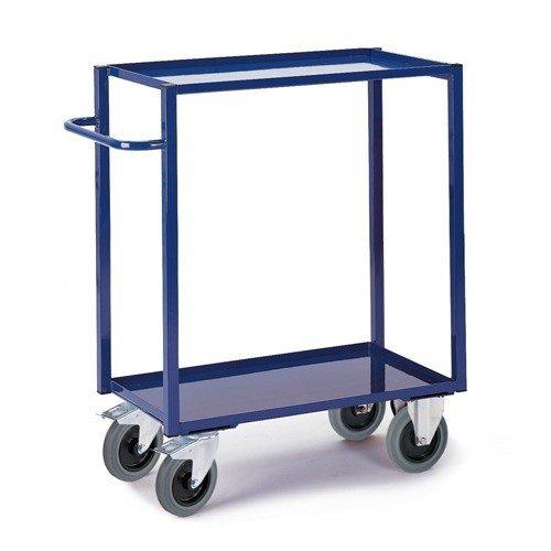 ROLLCART Werkplaatswagen met vloeistofdicht werkblad (hoog)
