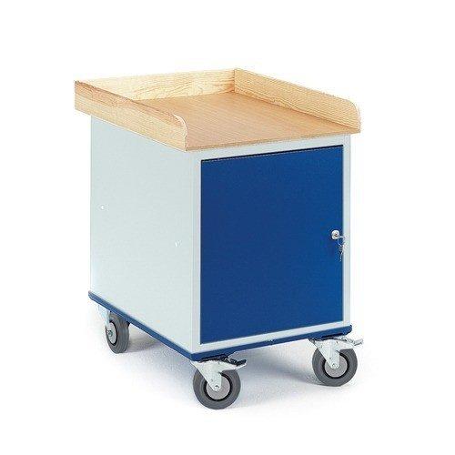 ROLLCART Werkplaatswagen met stalen kast