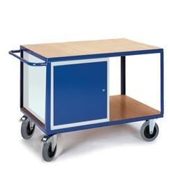 Werkplaatswagen met stalen kast (groot)